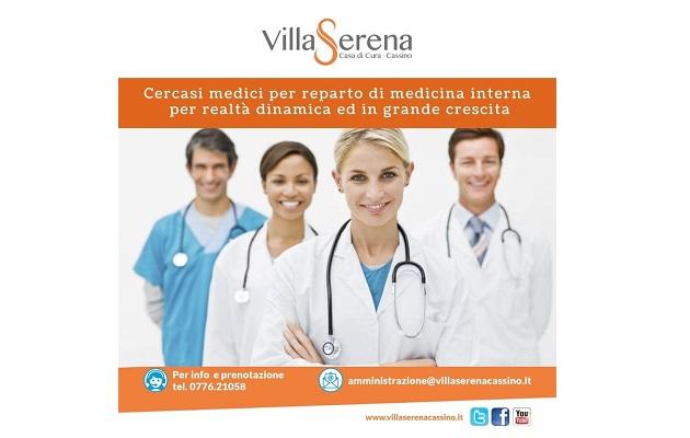 Ricerca Medici internisti